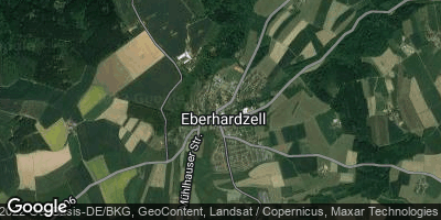 Google Map of Eberhardzell