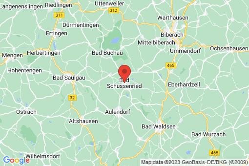 Karte Bad Schussenried