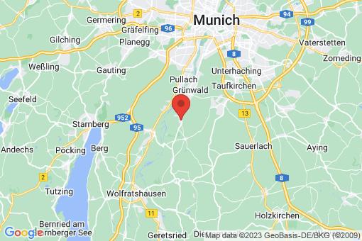 Karte Straßlach-Dingharting