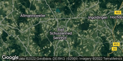 Google Map of Bad Schussenried