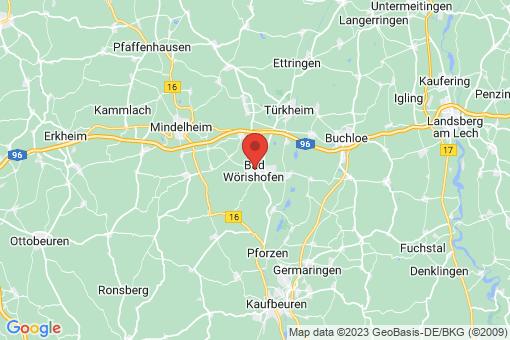 Karte Bad Wörishofen