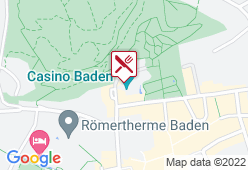 Casino Restaurant Baden - Karte
