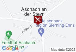 Kirchenwirt Aschach - Karte