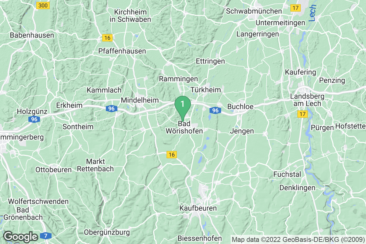 Google Map of Kneipp-Kurhaus Bartholomäus