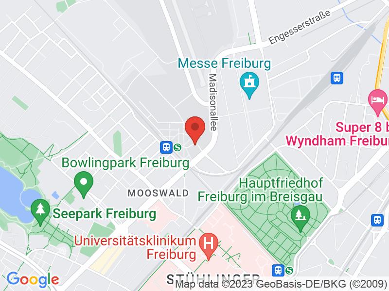 Map of Technische Fakultät, Gebäude 101, Raum 101 02 016 / 018 (2. Stock)