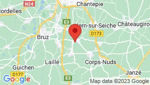Carte de localisation du centre de contrôle technique SAINT ERBLON