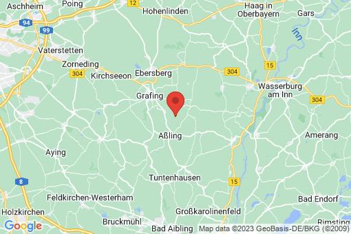 Karte Ast, Gemeinde Frauenneuharting