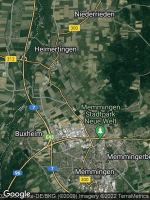 Google Map of Steinheim bei Memmingen