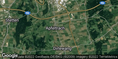 Google Map of Apfeltrach