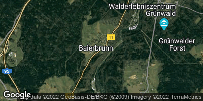 Google Map of Baierbrunn