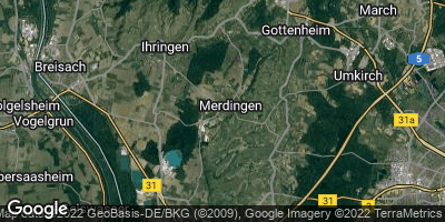 Google Map of Merdingen