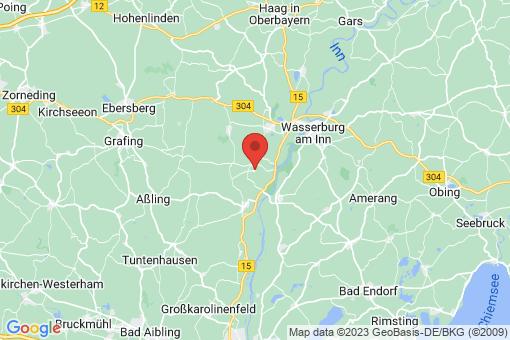 Karte Ramerberg