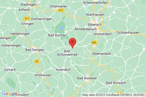 Karte Bad Schussenried Dunzenhausen