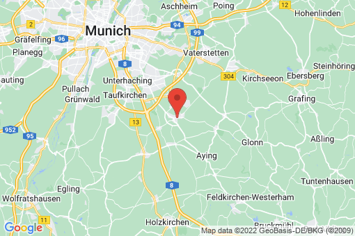 Karte Höhenkirchen-Siegertsbrunn