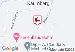 Araburg Stüberl - Karte