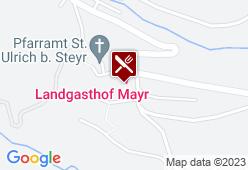 Landgasthof Mayr - Karte