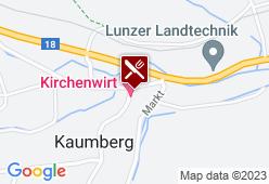 Kirchenwirt Kaumberg - Karte