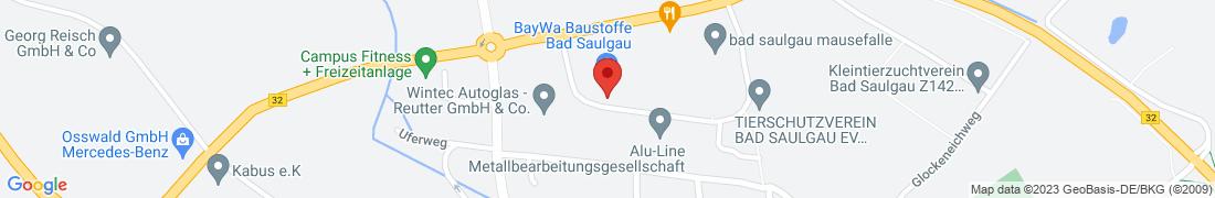 BayWa Baustoffe Bad Saulgau Anfahrt