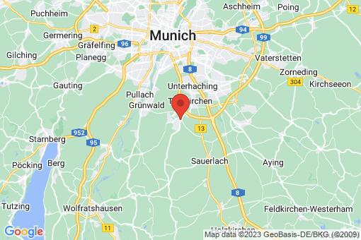 Karte Oberhaching