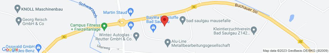 BayWa Haustechnik GmbH Bad Saulgau Anfahrt
