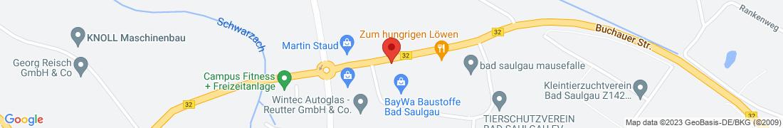 BayWa Haustechnik Bad Saulgau Anfahrt