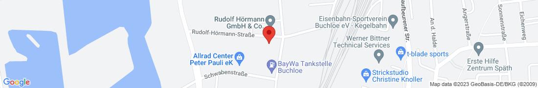 BayWa Baustoffe Buchloe Anfahrt