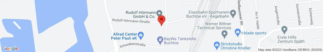 BayWa Haustechnik Buchloe Anfahrt