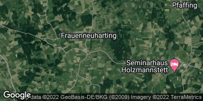 Google Map of Frauenneuharting