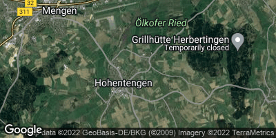 Google Map of Hohentengen