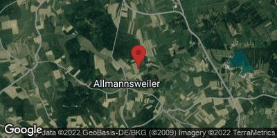 Google Map of Allmannsweiler