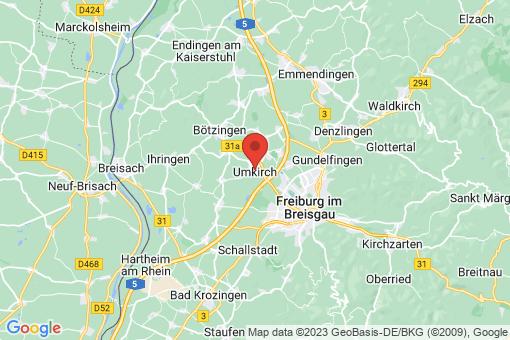 Karte Umkirch