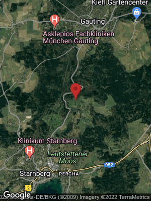Google Map of Petersbrunn