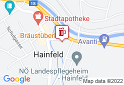 Braustüberl Hainfeld - Karte
