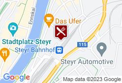 Central Bahnhofsgaststätte - Karte