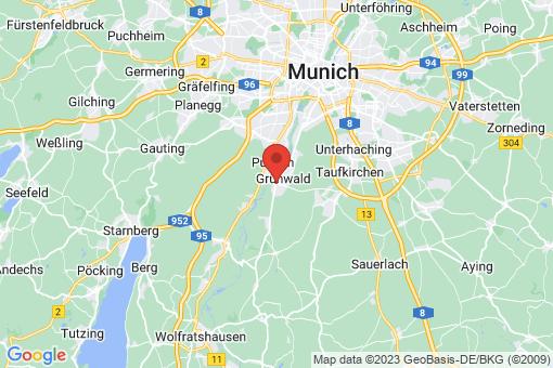 Karte Grünwald