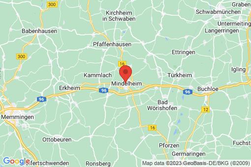 Karte Mindelheim