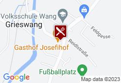 Gasthof Josefihof - Karte