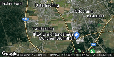 Google Map of Unterhaching