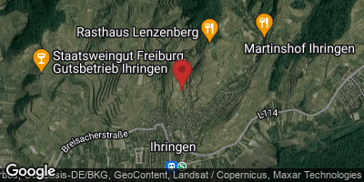 Google Map of Ihringen