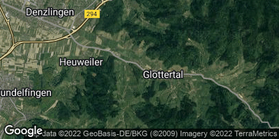 Google Map of Glottertal