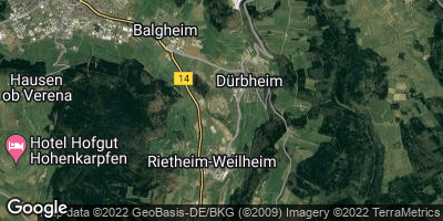 Google Map of Dürbhe
