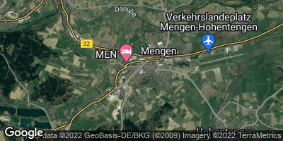 Google Map of Mengen