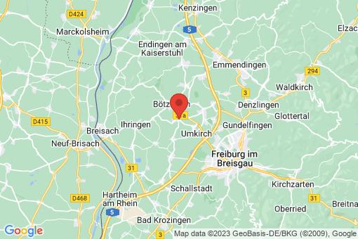 Karte Gottenheim