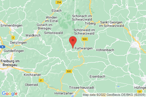Karte Gütenbach
