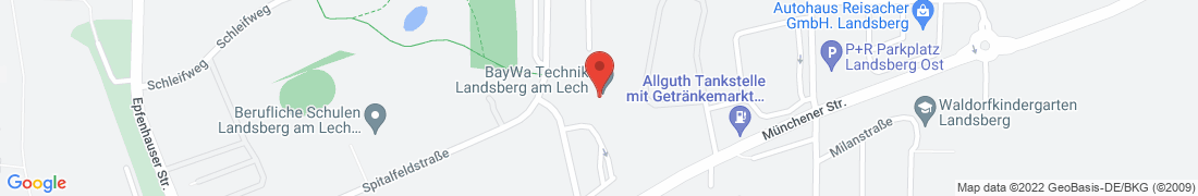 BayWa Technik Landsberg/Lech Anfahrt