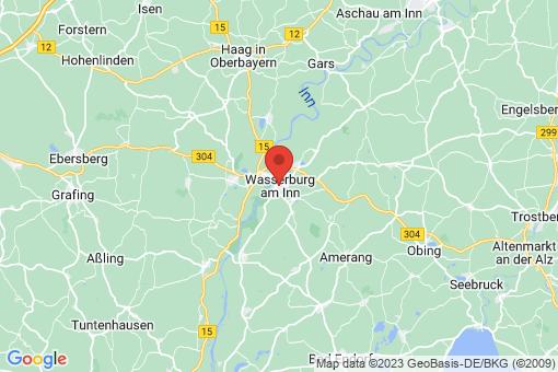 Karte Wasserburg am Inn