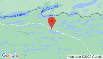 Map of Gunflint Trail