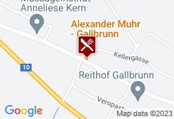 Einkehrgasthaus Muhr - Karte