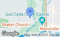 Map of Tulalip, WA