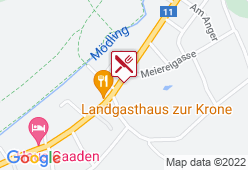 Gasthaus zu den Linden - Karte